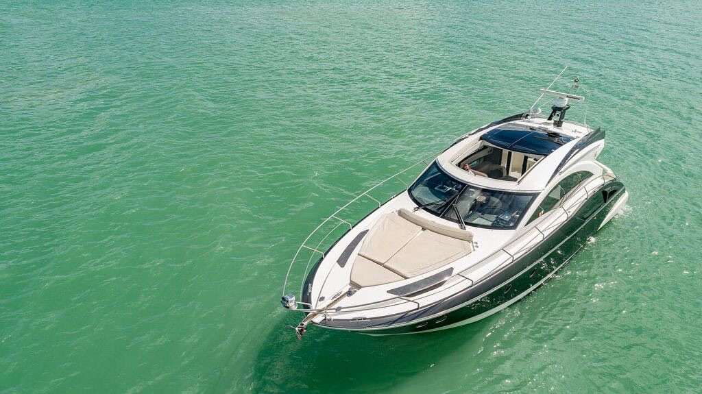 43' Marquis private yacht charters miami 1